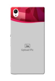 Sony Xperia Z1 Red Abstract Mobile Case Design