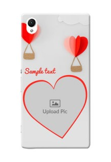 Sony Xperia Z1 Love Abstract Mobile Case Design