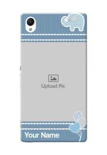 Sony Xperia Z1 kids design icons with  simple pattern Design Design