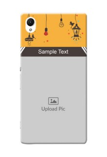 Sony Xperia Z1 my family design with hanging icons Design Design