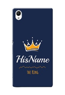 Xperia Z1 King Phone Case with Name