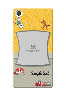 Sony Xperia Z3 Baby Picture Upload Mobile Cover Design