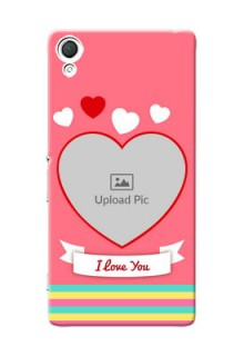 Sony Xperia Z3 I Love You Mobile Cover Design