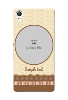 Sony Xperia Z3 Brown Abstract Mobile Case Design