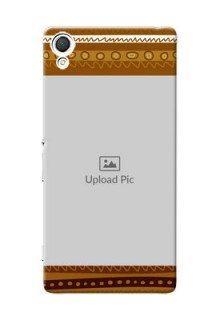 Sony Xperia Z3 Friends Picture Upload Mobile Cover Design