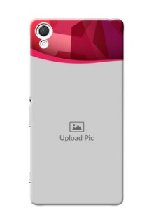Sony Xperia Z3 Red Abstract Mobile Case Design