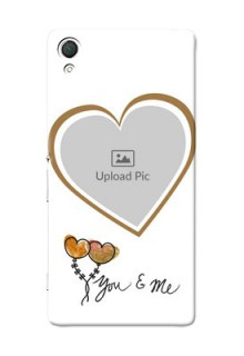 Sony Xperia Z3 You And Me Mobile Back Case Design