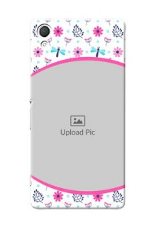 Sony Xperia Z3 Colourful Flowers Mobile Cover Design