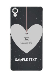 Sony Xperia Z3 Hanging Heart Mobile Back Case Design