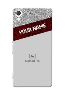 Sony Xperia Z3 2 image holder with glitter strip Design