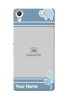 Sony Xperia Z3 kids design icons with  simple pattern Design Design