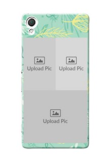 Sony Xperia Z3 family is forever design with floral pattern Design