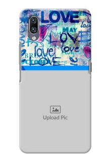 Vivo Nex Mobile Covers Online: Colorful Love Design