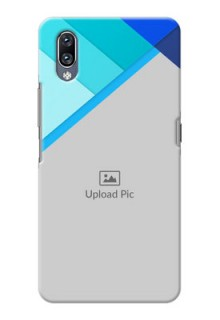Vivo Nex Phone Cases Online: Blue Abstract Cover Design