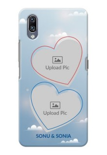 Vivo Nex Phone Cases: Blue Color Couple Design