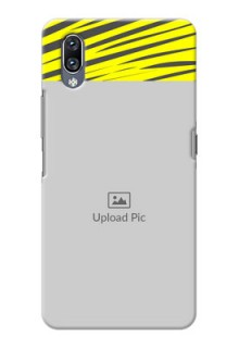 Vivo Nex Personalised mobile covers: Yellow Abstract Design