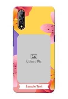 Vivo S1 Mobile Covers: 3 Image With Vintage Floral Design