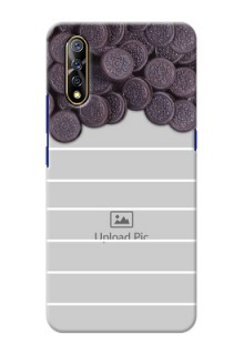 Vivo S1 Custom Mobile Covers with Oreo Biscuit Design