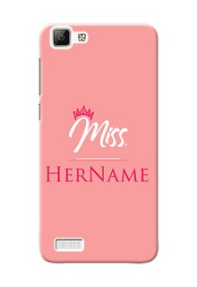 Vivo V1 Custom Phone Case Mrs with Name