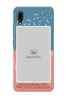 Vivo V11 Pro Phone Back Covers with Color Musical Note Design