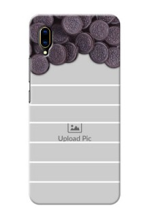 Vivo V11 Pro Custom Mobile Covers with Oreo Biscuit Design