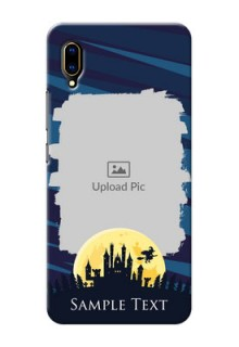 Vivo V11 Pro Back Covers: Halloween Witch Design