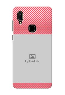 Vivo V11 Custom Mobile Case with White Dotted Design
