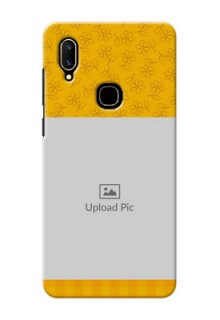 Vivo V11 mobile phone covers: Yellow Floral Design