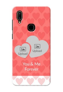 Vivo V11 personalized phone covers: Couple Pic Upload Design
