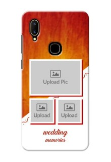 Vivo V11 Personalised Phone Cases: Wedding Memories Design