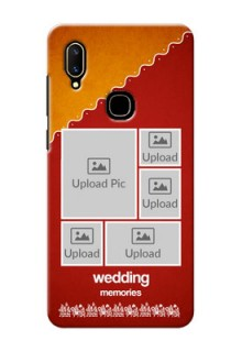 Vivo V11 customized phone cases: Wedding Pic Upload Design