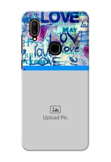 Vivo V11 Mobile Covers Online: Colorful Love Design