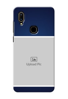 Vivo V11 Mobile Cases: Simple Royal Blue Design