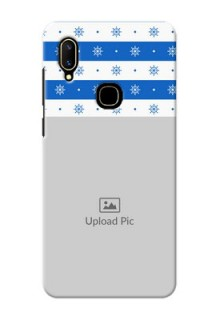 Vivo V11 custom mobile covers: Snow Pattern Design