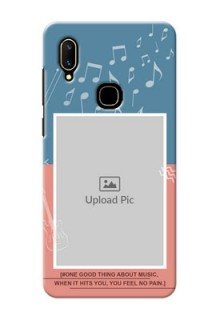 Vivo V11 Phone Back Covers with Color Musical Note Design