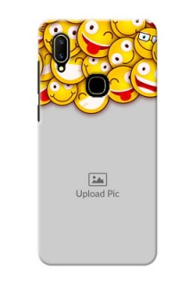 Vivo V11 Custom Phone Cases with Smiley Emoji Design