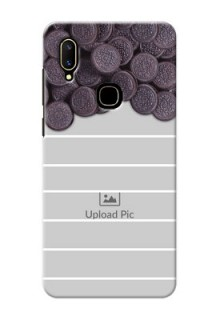 Vivo V11 Custom Mobile Covers with Oreo Biscuit Design