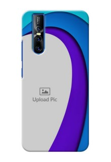 Vivo V15 Pro custom back covers: Simple Pattern Design