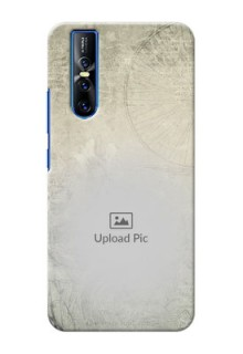 Vivo V15 Pro custom mobile back covers with vintage design