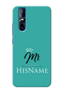 Vivo V15 Pro Custom Phone Case Mr with Name