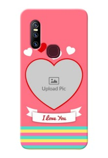 Vivo V15 Personalised mobile covers: Love Doodle Design