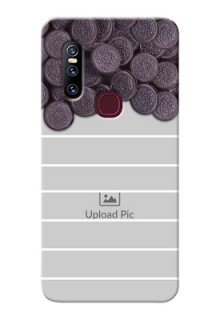 Vivo V15 Custom Mobile Covers with Oreo Biscuit Design