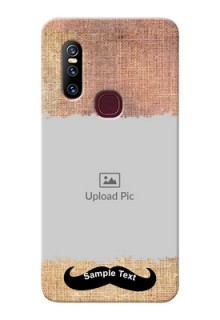 Vivo V15 Mobile Back Covers Online with Texture Design