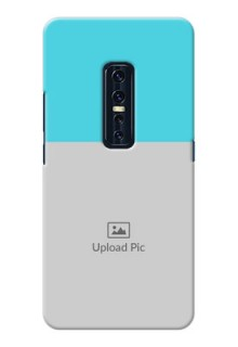 Vivo V17 Pro Personalized Mobile Covers: Simple Blue Color Design