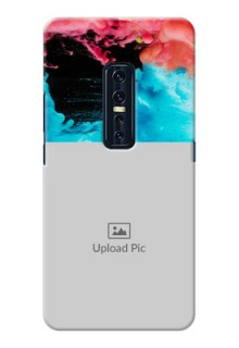 Vivo V17 Pro Mobile Cases: Quote with Acrylic Painting Design