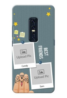 Vivo V17 Pro Mobile Cases: Sticky Frames and Friendship Design