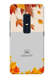 Vivo V17 Pro Mobile Phone Cases: Autumn Maple Leaves Design