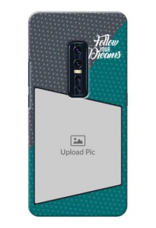 Vivo V17 Pro Back Covers: Background Pattern Design with Quote