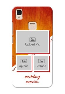Vivo V3 Max Wedding Memories Mobile Cover Design