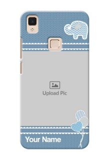 Vivo V3 Max kids design icons with  simple pattern Design Design